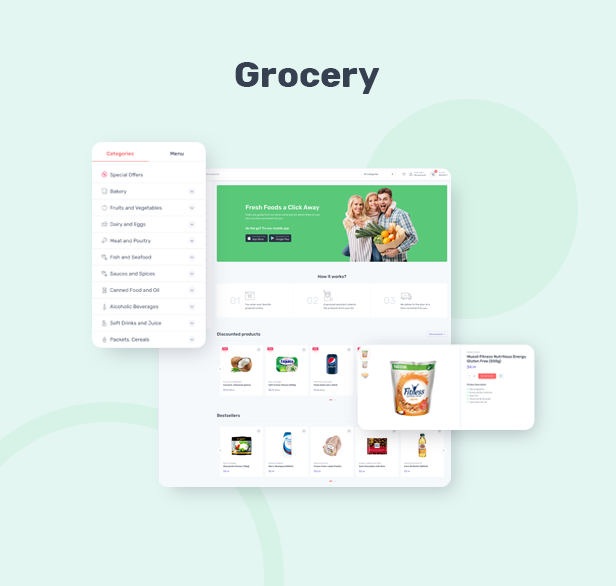 Cartzilla - Digital Marketplace & Grocery Store WordPress Theme - 3