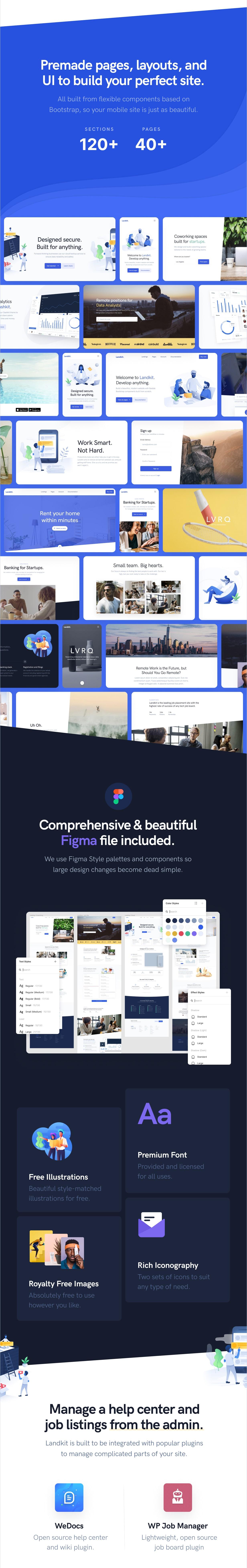 Landkit - Multipurpose Business WordPress Theme - 2